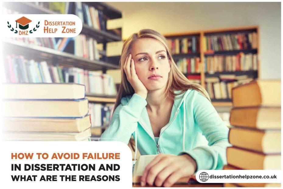 Avoid being fail in dissertation